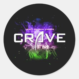 UltimateCrave Round Stickers