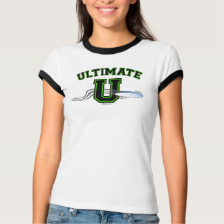 UltimateU Green Huck 2 Sided T Shirts
