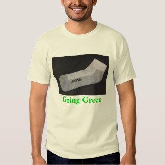 ultimaxsock, Going Green Tshirts