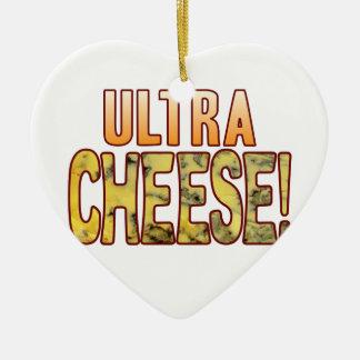 Ultra Blue Cheese Ceramic Heart Decoration