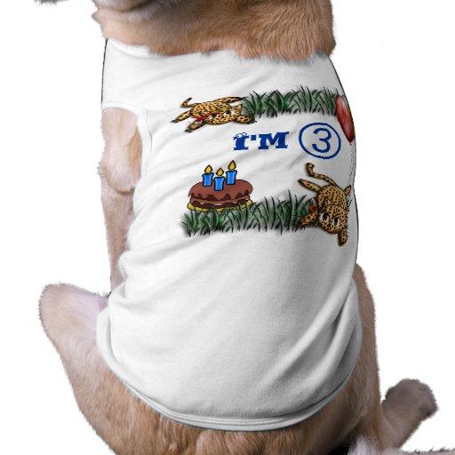 Ultra Cute 3 Year OLD Doggie T-shirt