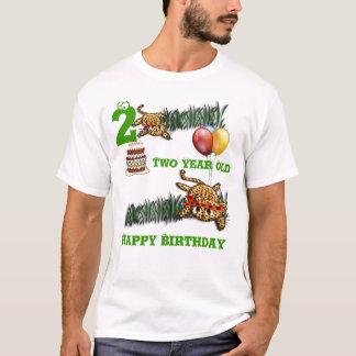 Ultra Cute Leopard Safari Birthday Invitations Wit T-Shirt