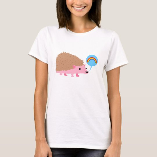 Ultra Kawaii - hedgehog rainbow talk T-Shirt