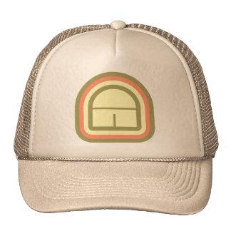 Ultra Modern deco art monogram A in 3 colors Trucker Hat