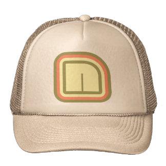 Ultra Modern deco art monogram N in 3 colors Trucker Hat