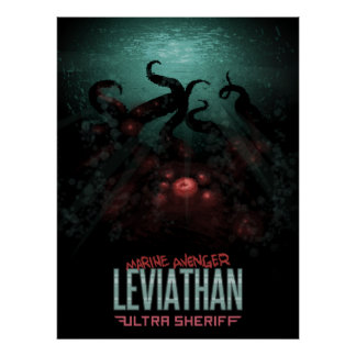 Ultra Sheriff - Leviathan Poster