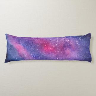Ultra violet galaxy Body Pillow