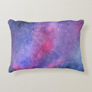 Ultra violet galaxy Custom Accent Pillow