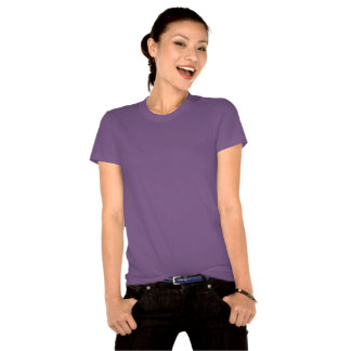 Ultra Violet Ladies Organic T-Shirt (Fitted)