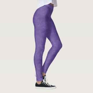 Ultra Violet Oil Pastel Leggings