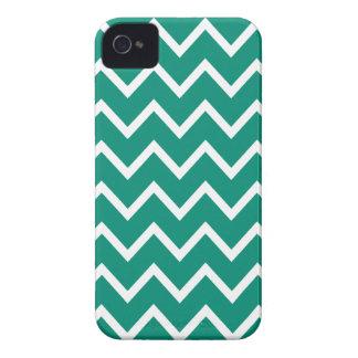 Ultramarine Green Chevron Iphone 4S Case