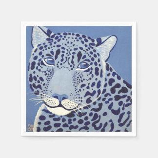 Ultramarine Jaguar Napkins Paper Serviettes