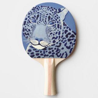 Ultramarine Jaguar Ping Pong Paddle