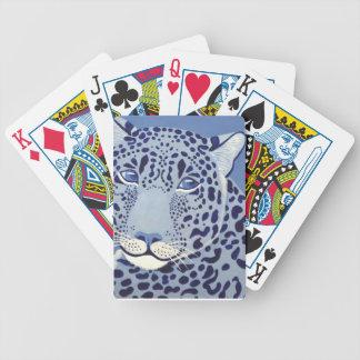 Ultramarine Jaguar Poker Playing Cards