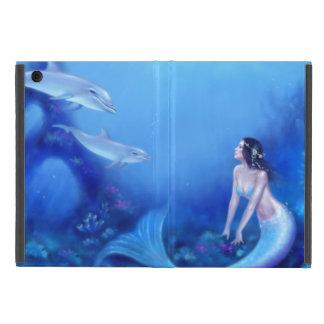 Ultramarine Mermaid & Dolphin Mini iPad Air Case