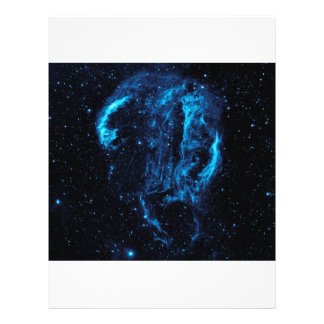Ultraviolet image of the Cygnus Loop Nebula 21.5 Cm X 28 Cm Flyer