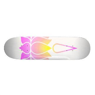 Ultraviolet Lotus 19.7 Cm Skateboard Deck