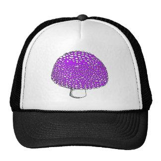 Ultraviolet Mushroom Magic Fungus Cap