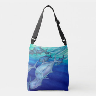 Ulua (Giant Trevally) Crossbody Bag