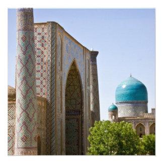 Ulug bek Madrasah Announcement