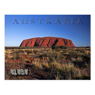 Uluru (Ayers Rock), Australia Postcard