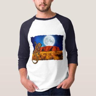Uluru Ayer's Rock & Australian Gecko Art Shirt