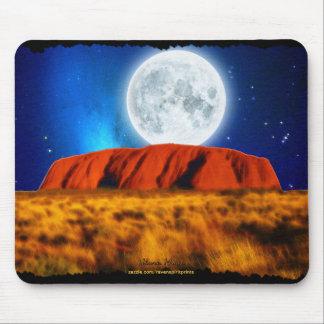 ULURU Ayer's Rock Australian Outback Art Mouse Pad