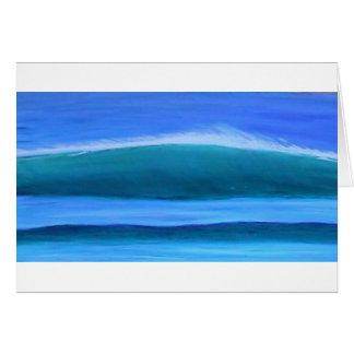 Uluwatu Wave Greeting Card
