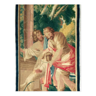 Ulysses accompanied by Telemachus Postcard