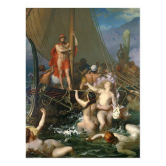 Ulysses and the Sirens 2 Postcard
