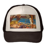 Ulysses and the Sirens by J. W. Waterhouse Hat
