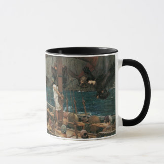 Ulysses and the Sirens by JW Waterhouse Mug