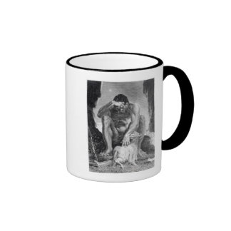 Ulysses Escaping from Polyphemus the Cyclops Coffee Mug