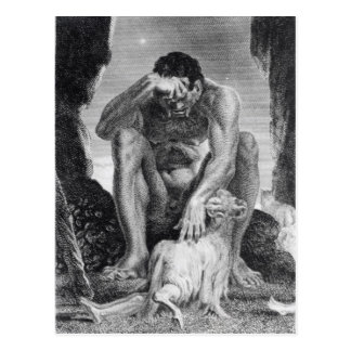 Ulysses Escaping from Polyphemus the Cyclops Postcard