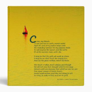 """Ulysses inspired Chapbook 1.5"""" Binder"""