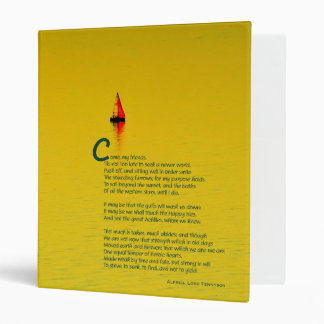 """Ulysses inspired Chapbook 1"""" Binder"""