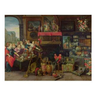 Ulysses Recognising Achilles Amongst Daughters Postcard