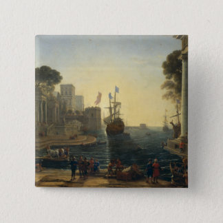 Ulysses Returning Chryseis to her Father 15 Cm Square Badge
