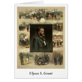 Ulysses S. Grant, 1885 Greeting Card
