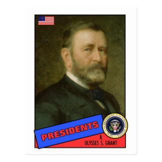 Ulysses S. Grant Baseball Card Postcard