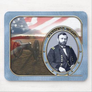 Ulysses S Grant Civil War Mousepad