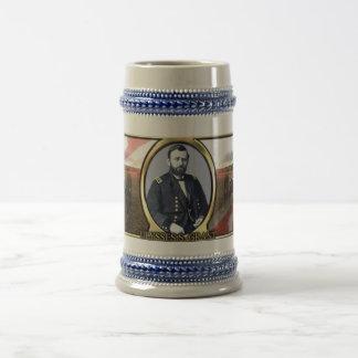 Ulysses S. Grant Civil War Stein 18 Oz Beer Stein