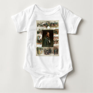 Ulysses S. Grant from West Point to Appomattox Baby Bodysuit