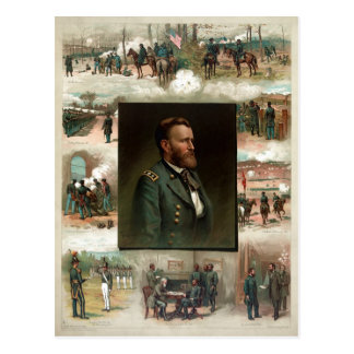 Ulysses S. Grant from West Point to Appomattox Postcard