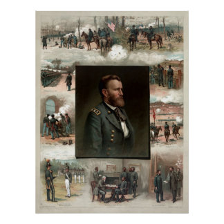 Ulysses S Grant from West Point to Appomattox Print
