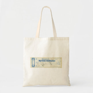 Ulysses S. Grant Signed Check from May 17th 1867 Tote Bag