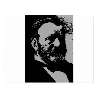 Ulysses S. Grant silhouette Post Card