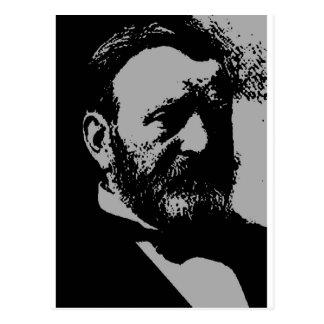 Ulysses S. Grant silhouette Postcard