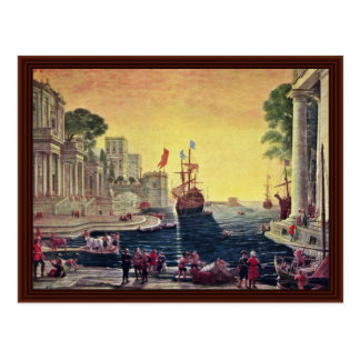 Ulysses Vraca Chrýseovnu Jejãmu Otci, Odysseus Postcard