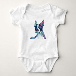 Ulysses Watercolor Pastel Baby Bodysuit